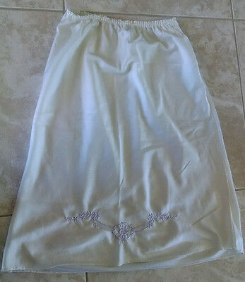 Vintage Undercover Wear Half Slip - Women's Small - with Purple Stitching