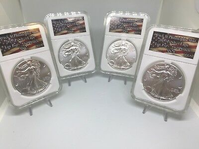 2015(P) 1 oz Silver Eagle in the Best Grade Possible 70 ICGS ALSO IN 69,68,&67