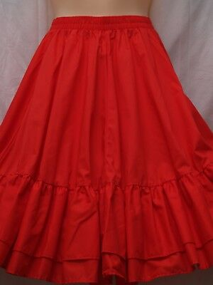 New Malco Modes Square Dance Skirt Petite Rockabilly Partners Please 3237