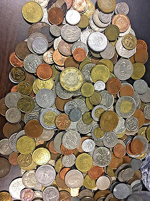 50  FOREIGN WORLD COINS No Duplicates in each Lot Collections Lots lot#2.