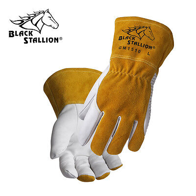 GM1510 WT Comfortable and High Dexterity MIG/TIG Gloves Size M