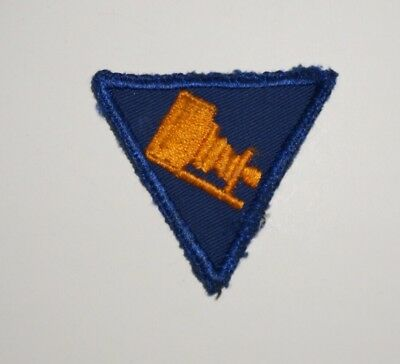 Twill AAF Photographer Cuff Patch US Army Air Forces WWII P5954
