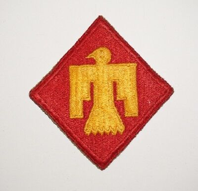 45th Infantry Division Patch WWII US Army P5961