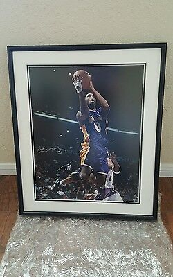 243345e528d1 KOBE BRYANT framed 16x20 signed uda Photo limited edition 51 108 Autographed