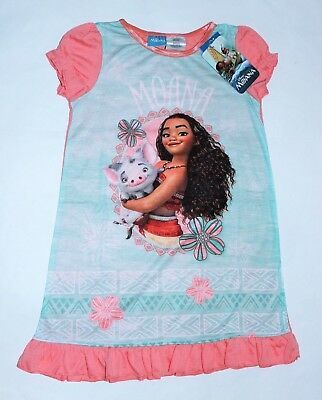 Moana Nightgown 4T Toddler Pajamas Night gown New w tags