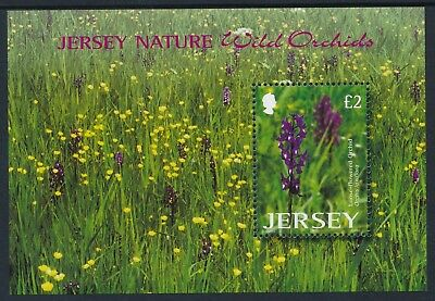 2003 Jersey Nature: Wild Orchids Minisheet Fine Mint