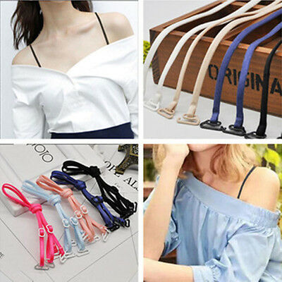 Thin Shoulder Straps Adjustable Underwear Strap Women Lady Strapless Bra Strap