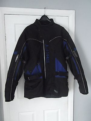 Swift Stealth Textile Motorcycle Jacket Mens XXL
