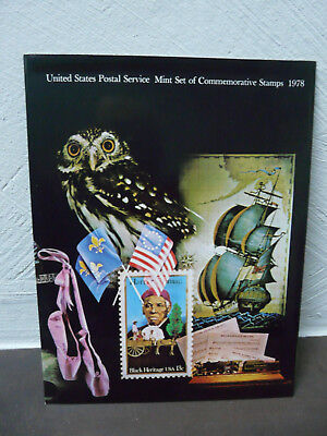 United States Postal Service Mint Set of Commemorative Stamps 1978 TOP - Zustand
