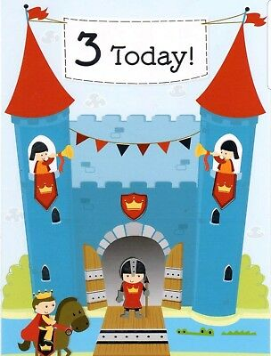 3 Year Old Boys Youre Today Birthday Card