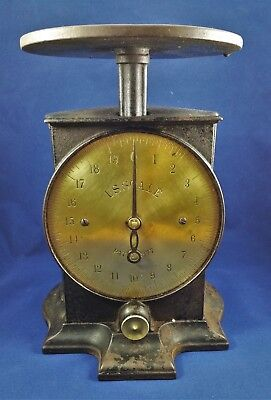 Antique Cast Iron Brass Face Scale U.s. Scale - North Brothers?