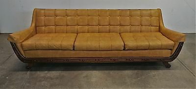 Vintage  Couch Sofa Mid Century Modern Retro