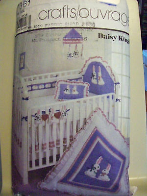 Simplicity 7361  VIntage Daisy Kingdom Nursery Collection Pattern USED