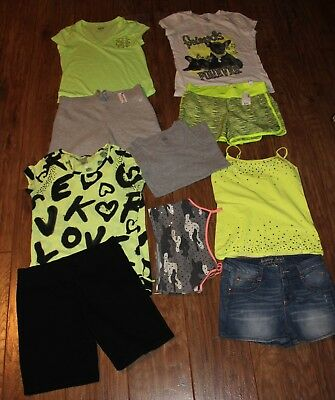 girls justice size 14 mix and match lot of 10 ~ some nwt ~ others euc
