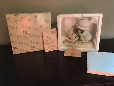 Precious Moments 1988 # 520667 Eggspecially For You Figurine MINT WITH BOX