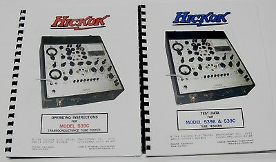 *USA* Hickok 539C ULTIMATE OPERATORS and TEST DATA