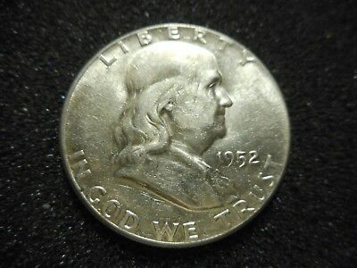 1952 Franklin Half Dollar   640d