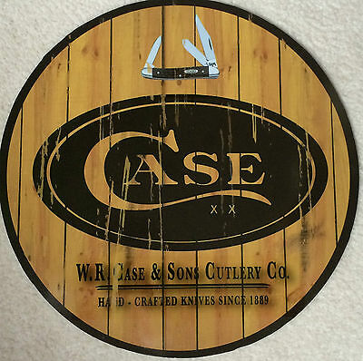 "Case Knife XX Accessory Collectible 12"" metal sign"