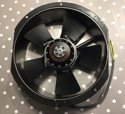 RC-Technik RC-T DCTLL 250-2-2 Fan 380/380VAC (660) 0.125/0.090KW 2650/2100 U/mm