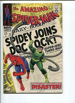 Amazing Spider-Man #56  9.0+  Vf/nm 1 Owner!  Nice Pages! Doc Ock!  Strict Grade