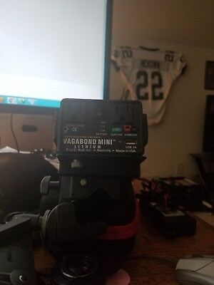Paul C. Buff Vagabond Mini Lithium Battery with Charger & Manfrotto Super Clamp