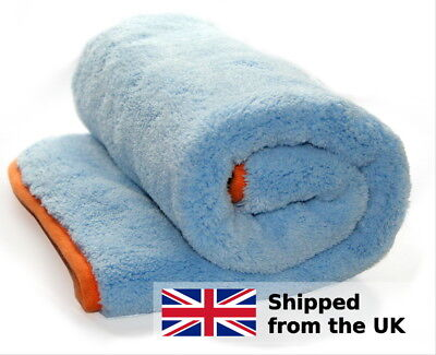 Microfibre drying towel 1200gsm car drying and buffing cloth 60x60cm