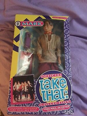 Official Mark Owen Take That Doll