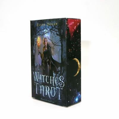 3Witches Tarot Deck Сard Rider-Waite Smith English Version 78 Cards Sealed Set