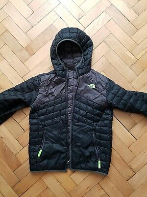 The north face boys reversible light down jacket large thermoball