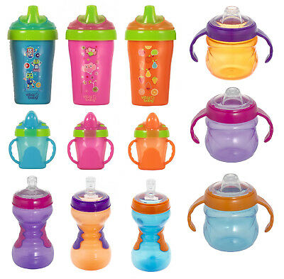 Vital Baby Toddler Cup Free Flow First Drinking Trainer Soft Spout Tumbler Straw