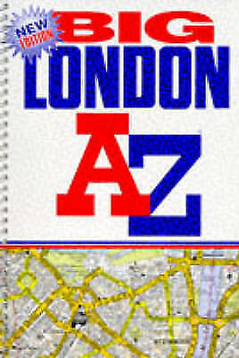 Good, A-Z London Big Street Atlas (London Street Atlases), Geographers' A-Z Map