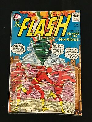 The Flash #144 Gd/vg Dc Comics Silver Age Flash!
