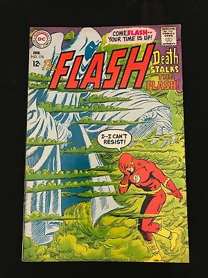 The Flash #176 Vg Dc Comics Silver Age Flash!