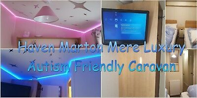 Autism Friendly Prestigious Brand New Luxury Caravan Hire Marton Mere Blackpool