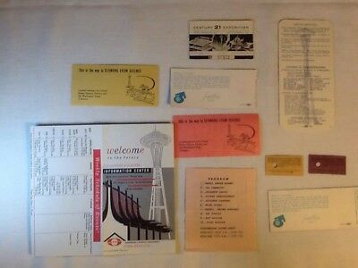 1962 Seattle World's Fair Admission Tickets Various