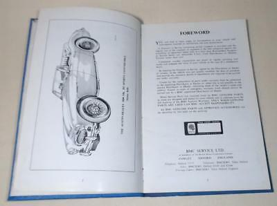 Vintage AUSTIN HEALEY 3000 Mk 3 Sports Driver's HANDBOOK, AKD4094B, FREE UK POST