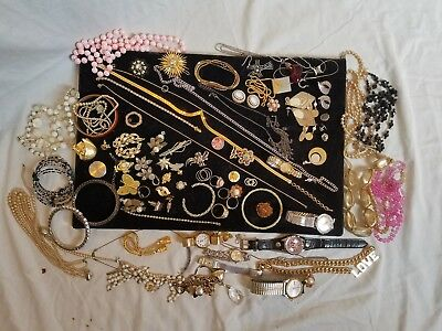 Vintage Jewelry Lot 10 LBS Sterling Silver 925 Gold Filled Native American