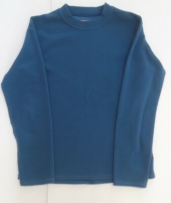 Beautiful Gordini Fleece Blue Youth Medium Pullover Excellent Condition