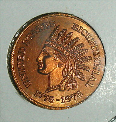 Indian Head Cent Bicentennial 1776-1976 Unc