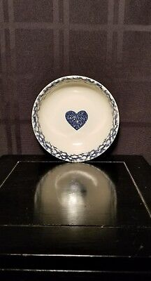 """Tienshan """" Blue Heart"""" Coupe Cereal Bowl"""
