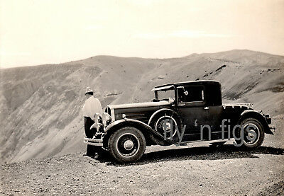 Franklin Touring Cars Original Photos 1924 Death Valley Road Trip Advertisement