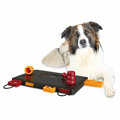 TRIXIE Move-2-Win Dog Activity Toy, Red