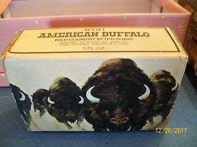 Avon Perfume Bottle - American Buffalo- Wild Country after shave for men