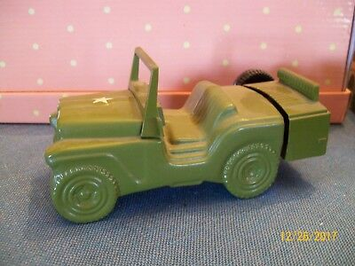 Avon Perfume Bottle - Army Jeep- Wild Country after shave for men