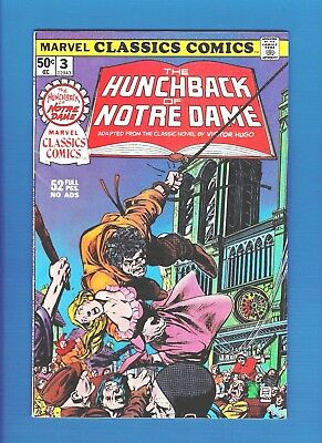 MARVEL CLASSICS COMICS #3 (1976) FN/VF The Hunchback Of Notre Dame