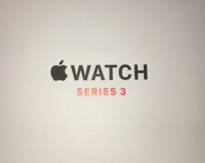 Apple Watch Series 3 42mm BOX ONLY FREE SHIPPING. Read Desc