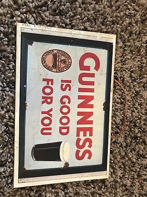 guinness Wood Sign