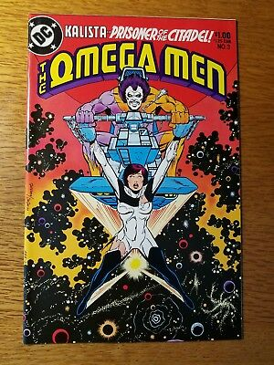 The Omega Men #3very nicecopy plus #s 30 31 33 35 36 38 & Annual #s 1 2