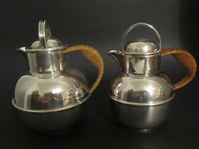 silver syrup pitchers - smaller one may be sterling - my #214