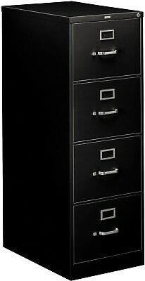 HON 26 and rdquo; 310 Series 4-Drawer Legal File Cabinet, Black